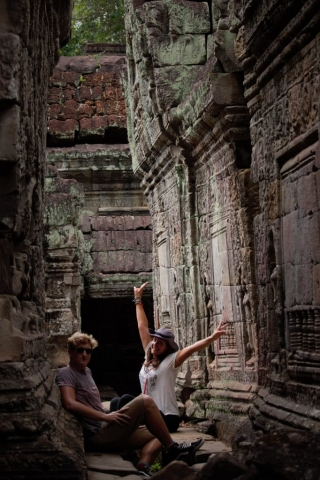 Preah Khan Tempel Angkor
