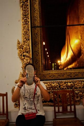 Wat Pho Bangkok Schuhe